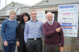 Lib Dem Team at the works on Intact